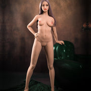 "HRDOLL Brand 5ft3"" Premium TPE Realistic A-cup Breast Lifelike Sex Love Doll ID:158-31"