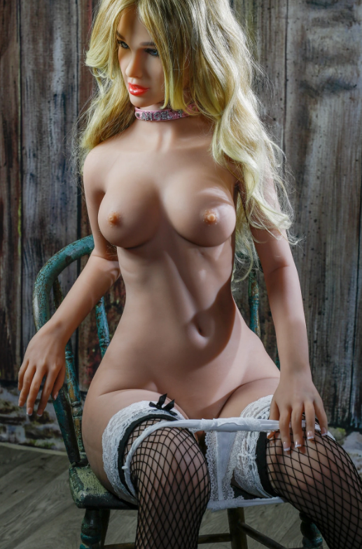 "5ft2"" Premium TPE Realistic B-cup Breast Lifelike Sex Love Doll ID:157-10"