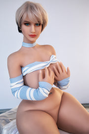 "HRDOLL Brand 5ft5"" Premium TPE Realistic Big I-cup Breast Sexy Big Ass Lifelike Sex Love Doll ID:163-13"
