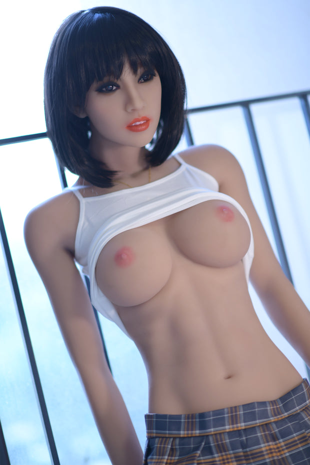 "6YE Brand 5ft7"" Realistic C-cup Breast Sex Love Doll Upgraded Double-gear Joints Skeleton ID:170-19"