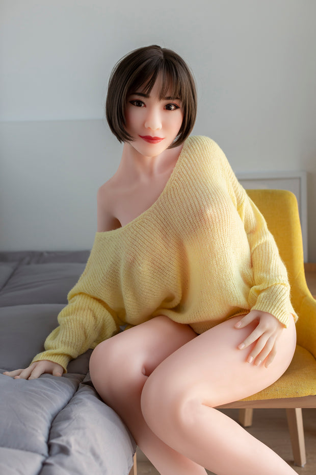 "HRDOLL Brand 5ft5"" Premium TPE Realistic D-cup Breast Lifelike Sex Love Doll ID:165-34"