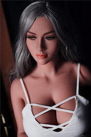 "5ft3"" Premium TPE Realistic F-cup Breast Men Sex Love Doll ID:158-02"