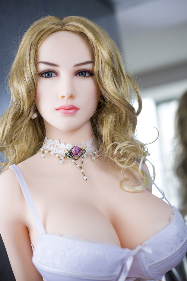 "5ft3"" Premium TPE Realistic F-cup Breast Men Sex Love Doll ID:158-04"