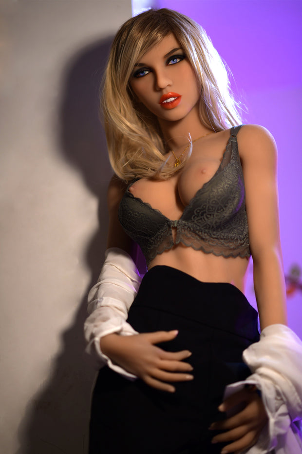 "6YE Brand 5ft7"" Realistic C-cup Breast Sex Love Doll Upgraded Double-gear Joints Skeleton ID:170-17"