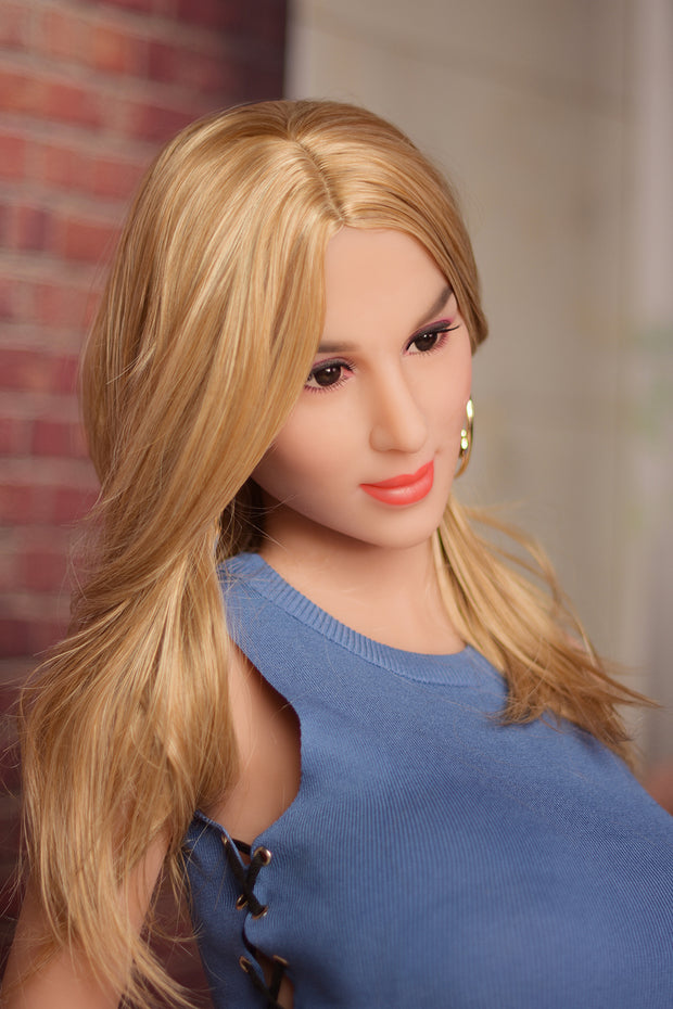 "5ft5"" Premium TPE Realistic E-cup Breast Lifelike Sex Love Doll ID:165-22"