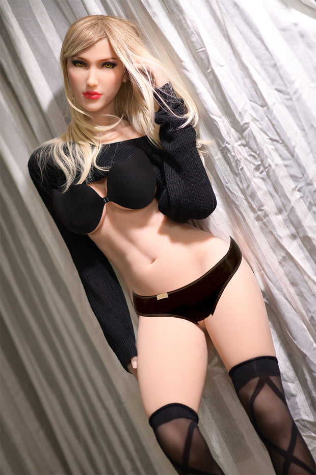 "6YE Brand 5ft7"" Realistic C-cup Breast Sex Love Doll Upgraded Double-gear Joints Skeleton ID:170-18"