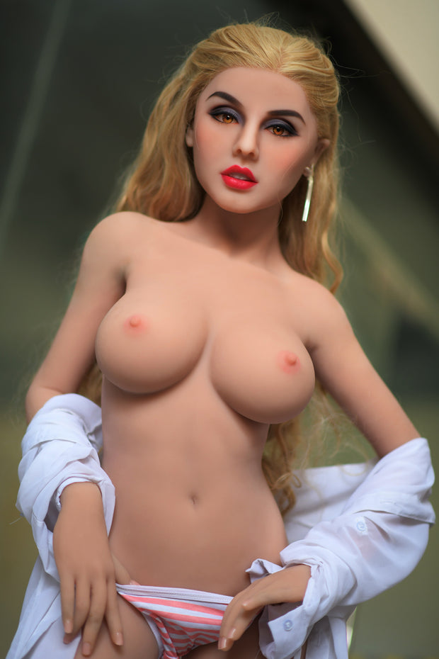 6YE Brand 5ft Premium TPE Realistic C-cup Breast Lifelike Sex Love Doll ID:150-04