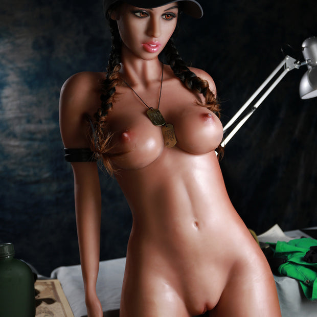 "5ft7"" Premium TPE Realistic Natural C-cup Breast Lifelike Sex Love Doll Sexy Girl ID:170-04"