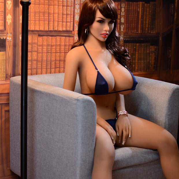 5ft Premium TPE Realistic E-cup Breast Lifelike Sex Love Doll ID:153-05