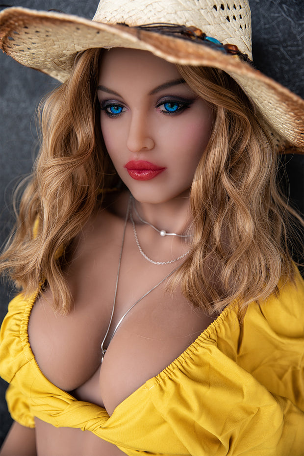 "HRDOLL Brand 5ft5"" Premium TPE Realistic D-cup Breast Lifelike Sex Love Doll ID:165-35"