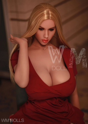 "5ft5"" Premium TPE Realistic H-cup Breast Lifelike Sex Love Doll ID:163-07"