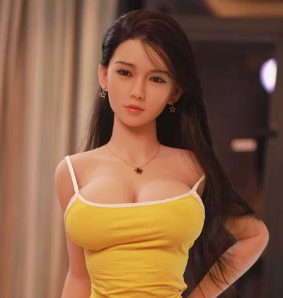 "4ft7"" Premium TPE Realistic D-cup Breast Men Sex Love Doll ID:140-54"