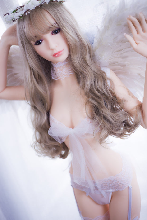 "4ft10"" Premium TPE Realistic A-cup Breast Men Sex Love Doll ID:148-01"