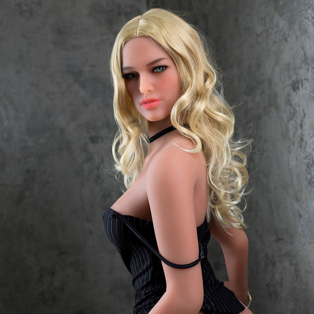 "5ft6"" Premium TPE Realistic C-cup Breast Lifelike Sex Love Doll ID:166-10"