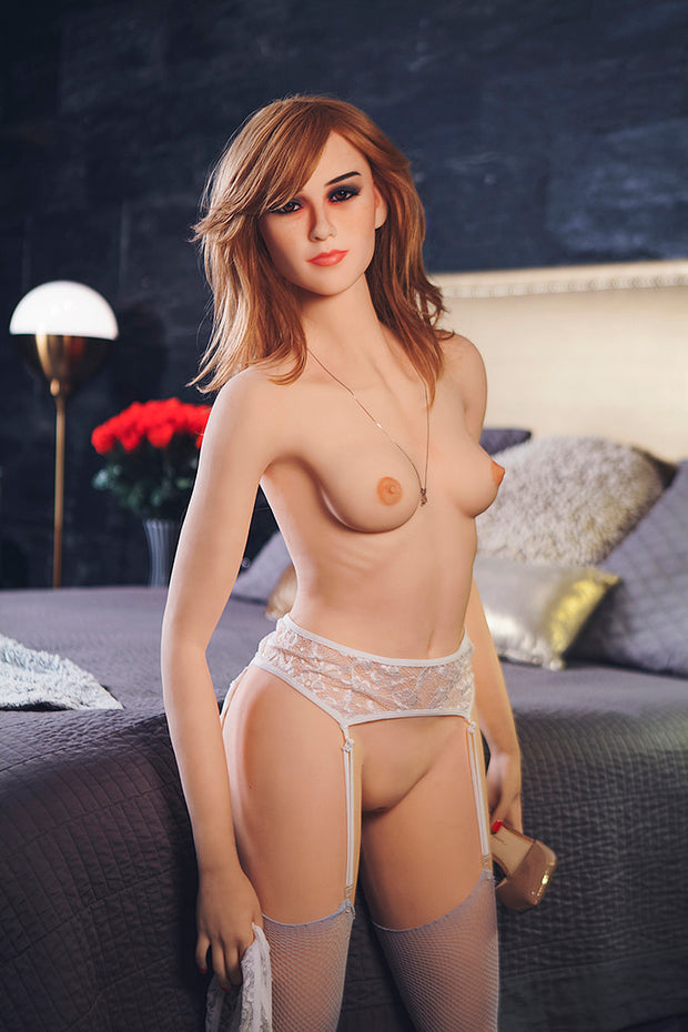 "5ft3"" Premium TPE Realistic A-cup Breast Men Sex Love Doll ID:160-01"
