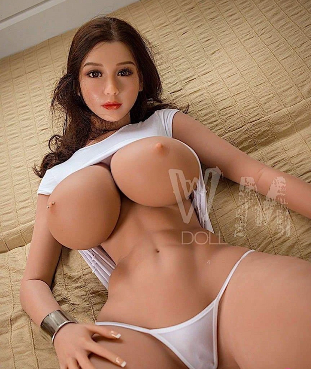5ft Premium TPE Realistic H-cup Breast Men Sex Love Doll ID:152-12