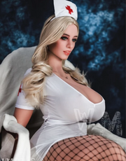 "5ft7"" Premium TPE Realistic M-cup Breast Lifelike Sex Love Doll ID:170-09"