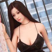 "4ft7"" Premium TPE Realistic D-cup Breast Men Sex Love Doll ID:140-52"