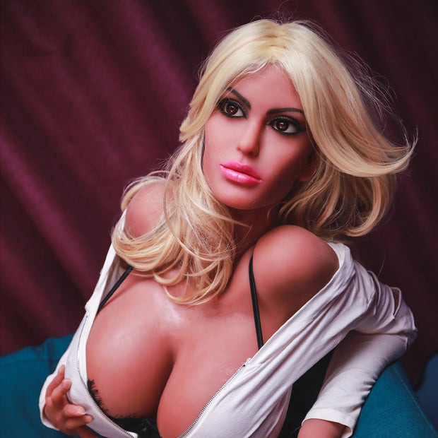 "5ft7"" Premium TPE Realistic H-cup Breast Lifelike Sex Love Doll ID:170-13"