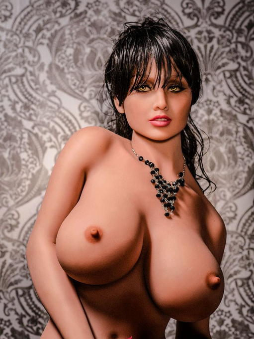 "5ft7"" Premium TPE Realistic H-cup Breast Lifelike Sex Love Doll ID:170-11"