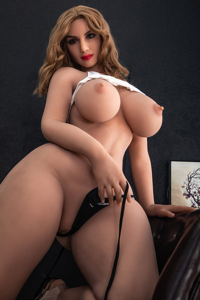 "HRDOLL Brand 5ft5"" Premium TPE Realistic Big I-cup Breast Sexy Big Ass Lifelike Sex Love Doll ID:163-12"