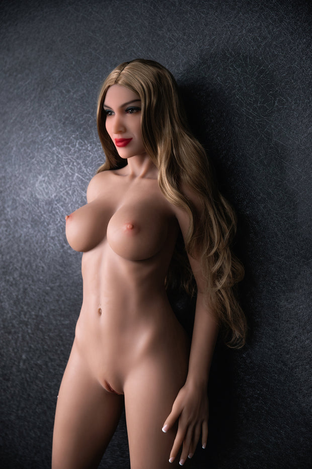 "HRDOLL Brand 5ft5"" Premium TPE Realistic D-cup Breast Lifelike Sex Love Doll ID:165-33"