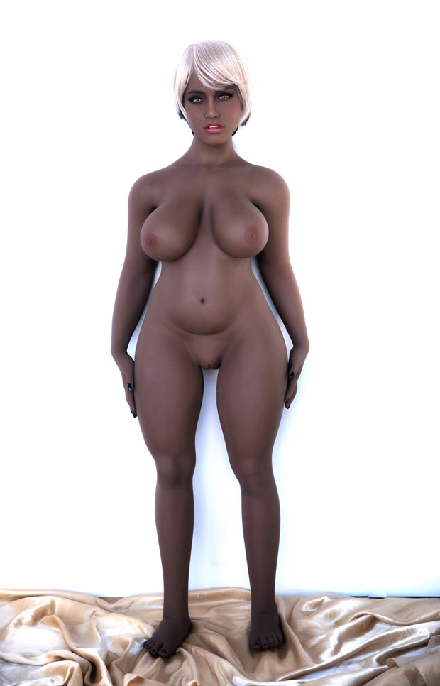 "6YE Brand 4ft6"" Premium TPE Realistic D-cup Breast Huge Butt Lifelike Sex Love Doll ID:140-40"