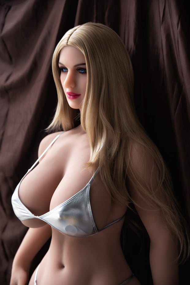 "HRDOLL Brand 5ft5"" Premium TPE Realistic Big I-cup Breast Sexy Big Ass Lifelike Sex Love Doll ID:163-11"