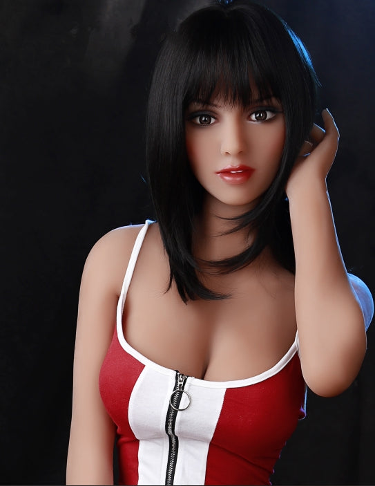 "4ft10"" Premium TPE Realistic B-cup Breast Lifelike Sex Love Doll ID:148-21"