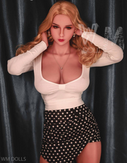 "5ft6"" Premium TPE Realistic G-cup Breast Lifelike Sex Love Doll ID:166-14"