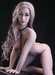 "4ft9"" Premium TPE Realistic C-cup Breast Lifelike Sex Love Doll ID:145-03"