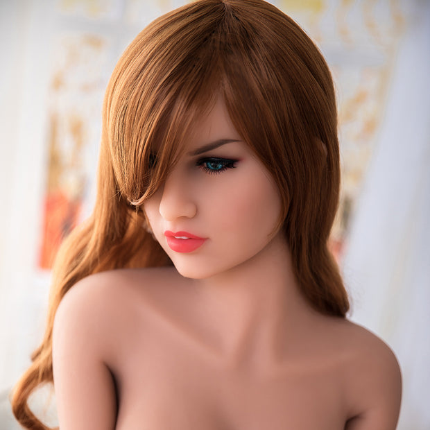 "4ft9"" Premium TPE Realistic C-cup Breast Lifelike Sex Love Doll ID:145-01"