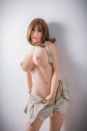 "5ft5"" Premium TPE Realistic E-cup Breast Lifelike Sex Love Doll ID:165-16"