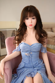 "5ft3"" Premium TPE Realistic A-cup Breast Lifelike Sex Love Doll ID:160-13"