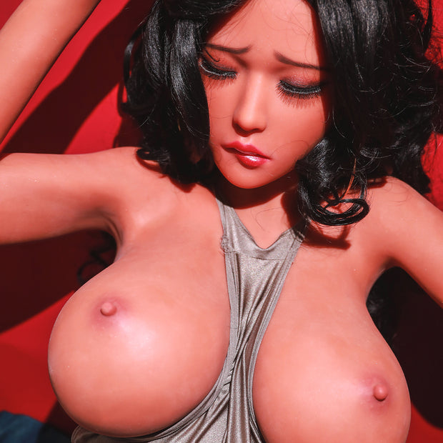 Premium TPE Realistic Big Breast Sexy Butt Lifelike Sex Torso Love Doll ID:T-04