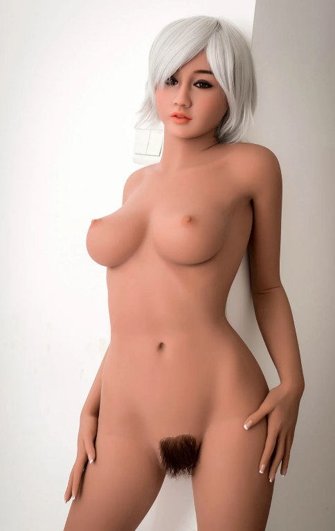 "4ft10"" Premium TPE Realistic B-cup Breast Lifelike Sex Love Doll ID:148-18"