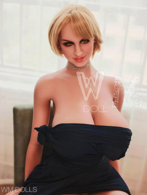"5ft5"" Premium TPE Realistic H-cup Breast Lifelike Sex Love Doll ID:163-08"