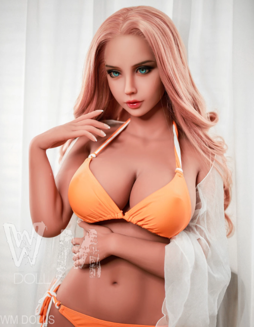 "5ft3"" Premium TPE Realistic F-cup Breast Lifelike Sex Love Doll ID:158-23"