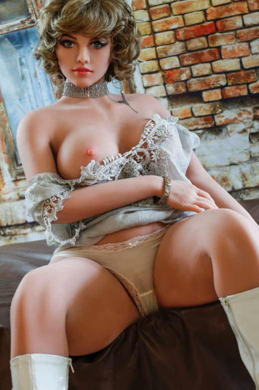 "5ft6"" Premium TPE Realistic B-cup Breast Big Butt Lifelike Sex Love Doll ID:167-03"