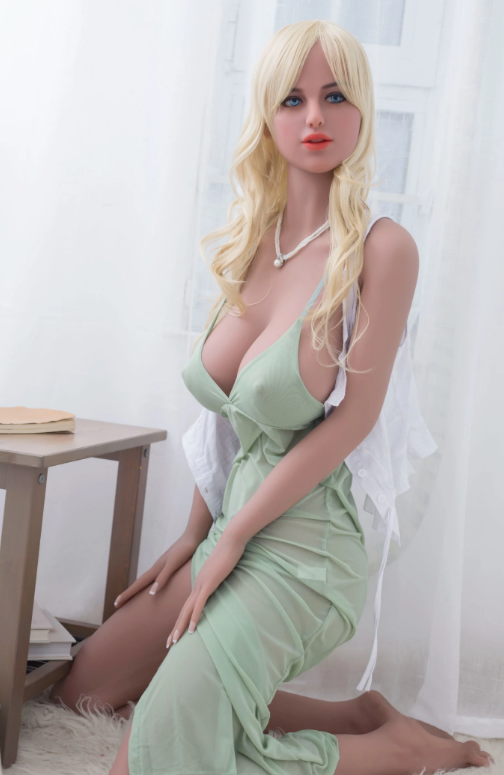 "5ft7"" Premium TPE Realistic E-cup Breast Lifelike Sex Love Doll ID:168-11"