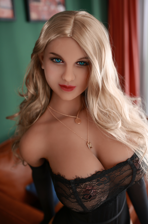 "5ft1"" Premium TPE Realistic E-cup Breast Lifelike Sex Love Doll ID:155-04"