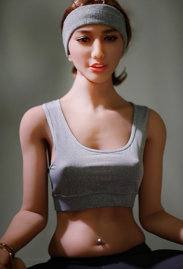 "6YE Brand 5ft7"" Realistic B-cup Breast Sex Love Doll Upgraded Double-gear Joints Skeleton ID:170-20"