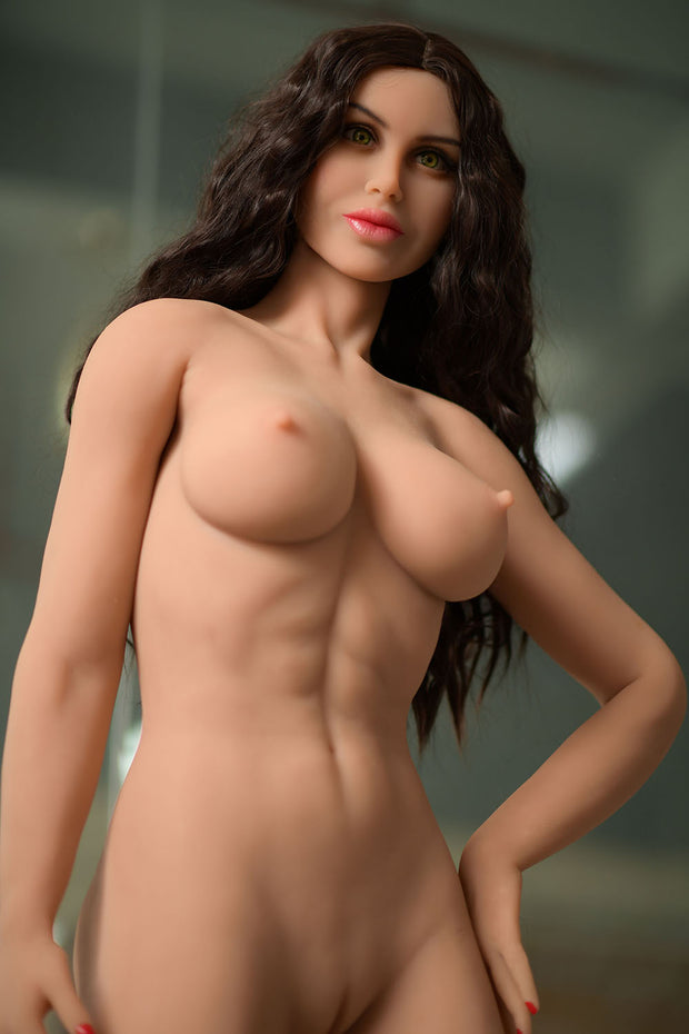 "HRDOLL Brand 5ft1"" Premium TPE Realistic D-cup Breast Sexy Muscle Lifelike Sex Love Doll ID:153-09"