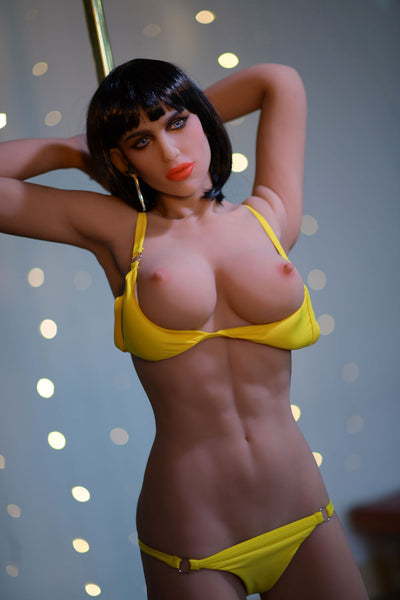 "HRDOLL Brand 5ft1"" Premium TPE Realistic D-cup Breast Sexy Muscle Lifelike Sex Love Doll ID:153-08"