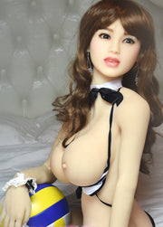 5ft Premium TPE Realistic D-cup Breast Lifelike Sex Love Doll ID:150-03