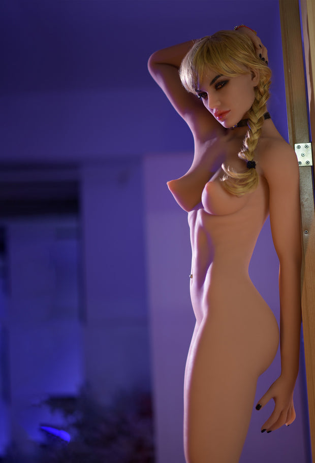 "6YE Brand 5ft7"" Realistic B-cup Breast Sex Love Doll Upgraded Double-gear Joints Skeleton ID:170-21"
