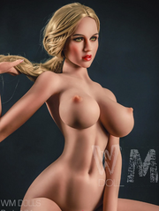 "5ft4"" Premium TPE Realistic H-cup Breast Lifelike Sex Love Doll ID:161-07"