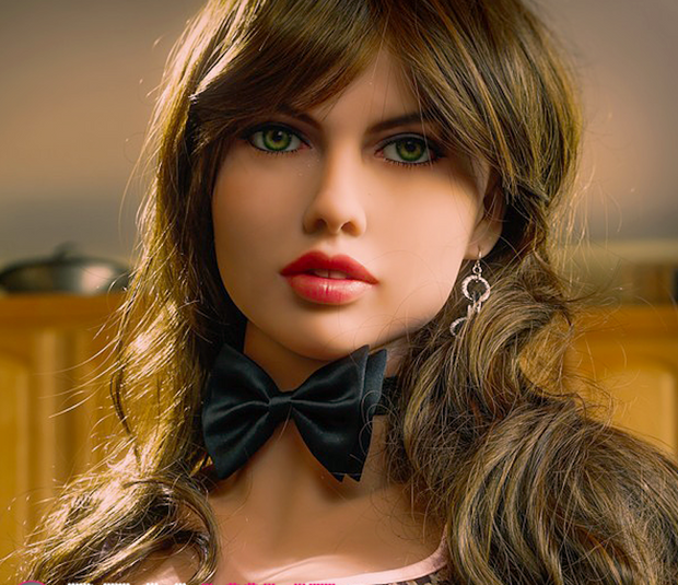 "5ft5"" Premium TPE Realistic D-cup Breast Lifelike Sex Love Doll ID:165-14"