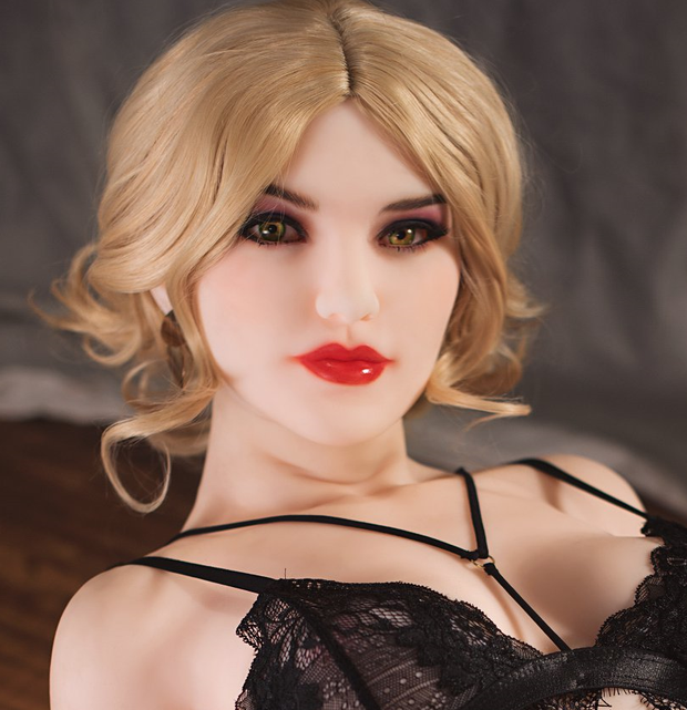 "6YE Brand 5ft3"" Premium TPE Realistic A-cup Breast Lifelike Sex Love Doll ID:160-19"