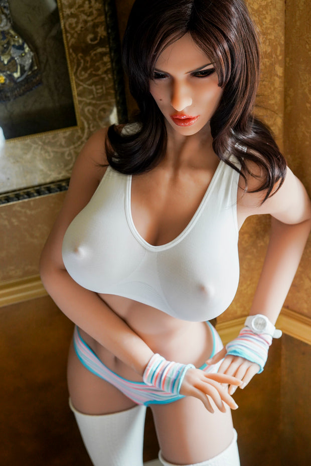 "HRDOLL Brand 5ft9"" Premium TPE Realistic E-cup Breast Men Sex Love Doll ID:176-03"